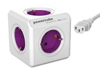 PowerCube ReWirable + 3x plug + 1mtr IEC EU cable