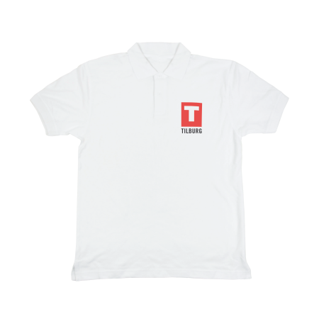 Poloshirt 180 gr/m2 wit - S
