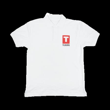 Poloshirt 180 gr/m2 wit - XL