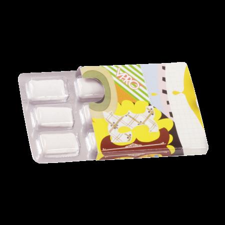 Kauwgum in blister 6 stuks