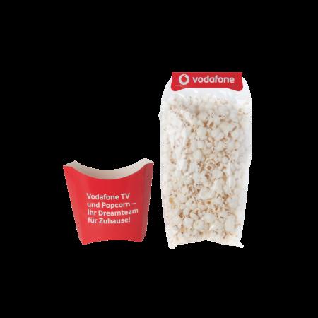 Popcorn in bakje