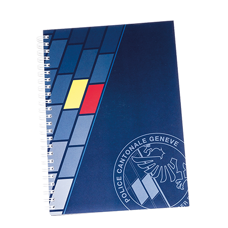 Softcover notebook Wire-O A5 50 vel