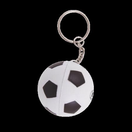 Anti-stress Voetbal met sleutelhanger