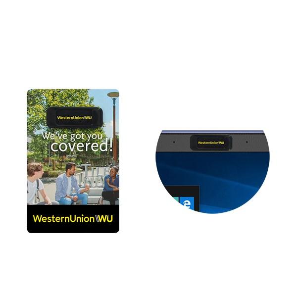Budget webcam cover - incl. kaartje