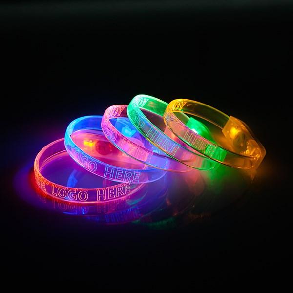 LED armband incl. button verschillende licht standen