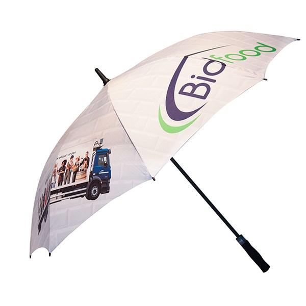 Digitale print paraplu 17 inch