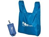 Opvouwbare tas met plastic karbijnhaakje en sluiting