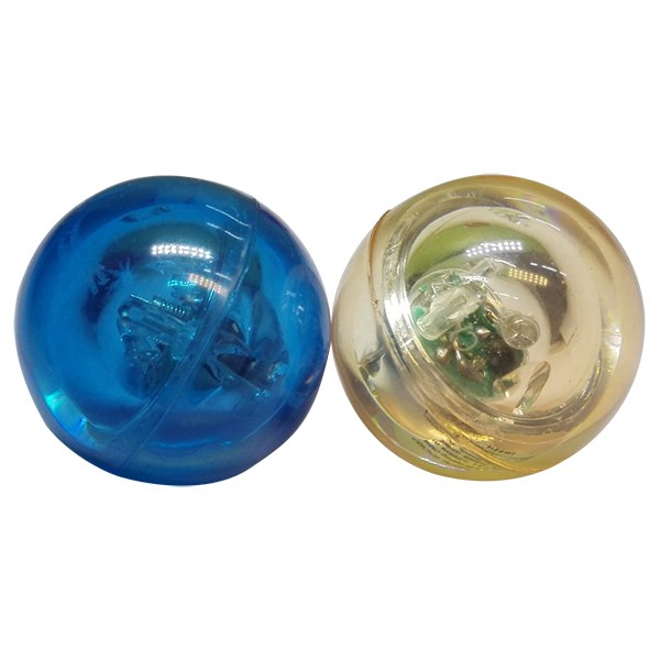 Stuiterende ballen met licht