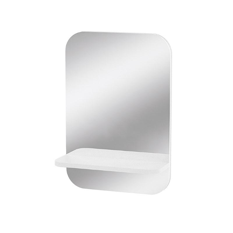 Wand spiegel met sleutelhouder