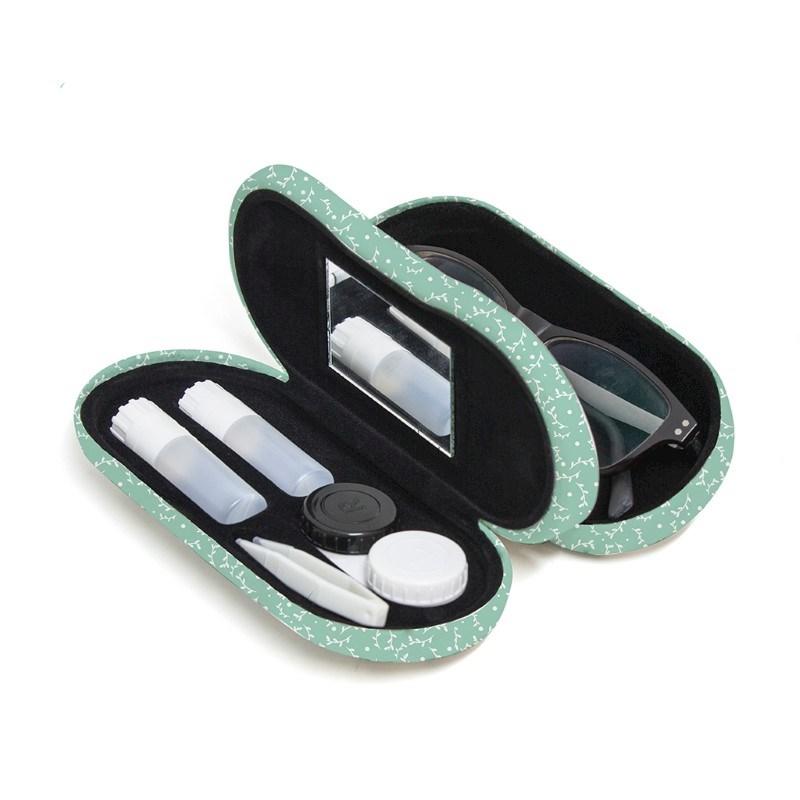 Brillen en contactlenzendoosje