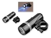 LIGHTON, 5 LED fietslamp met clip