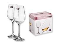 VINOS, 6-delige wijnset BOHEMIA glas in geschenkdoos
