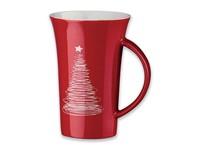 WALT CHRISTMAS ,Keramische mok met kerst motief. Inhoud 330 ml