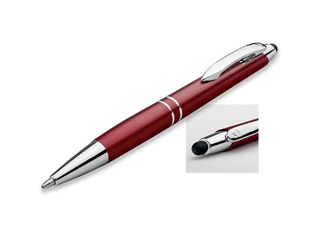 MARIETA STYLUS, metalen balpen - touch pen, blauwschrijvend, SANTINI