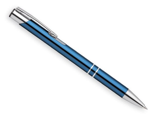 OLEG, metalen balpen, blauwschrijvend