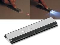 TOLA, zaklamp 2 LED's en laserpointer