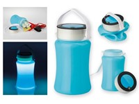 DURABLE, waterproof 3 LED campinglamp met bergruimte, BEAVER