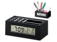 KEANU, pennenstandaard met klok