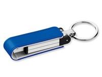 USB FLASH 46, USB FLASH 8 GB metalen and kunstleer, 2.0