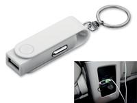 CARTECH, kunststof sleutelhanger - auto adapter