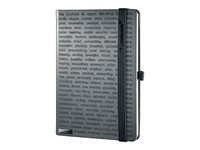 LANYBOOK THE ONE IV, notitieboekje met elastiek, 140x205mm