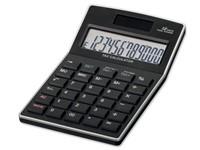 KALEB, kunststof 12-cijferige dual power calculator