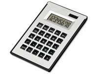 ZIGGY, kunststof 8-cijferige dual calculator met notes en balpen