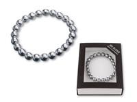 BRACELET ,Armband van glas in geschenkdoos. Gefabriceerd door bijuterie Jablonec