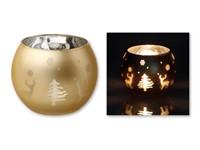 CANDELERO ,Kandelaar van glas voor de kerst