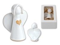 ANGELITO ,Keramische decoratie in geschenkverpakking.