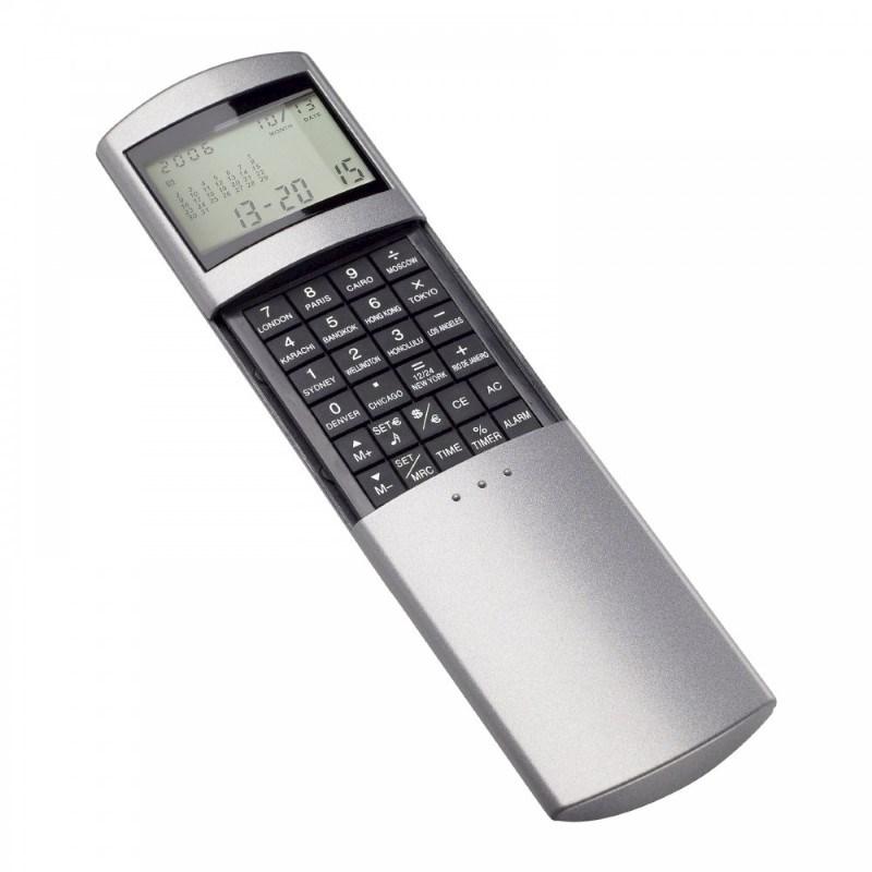 Calculator met wereldtijdenklok REFLECTS-ODENSE