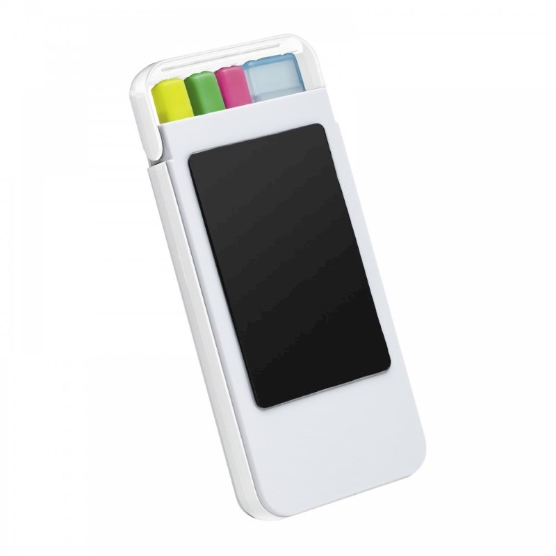 Mobiele telefoonhouder met marker set CLIC CLAC-DULUTH
