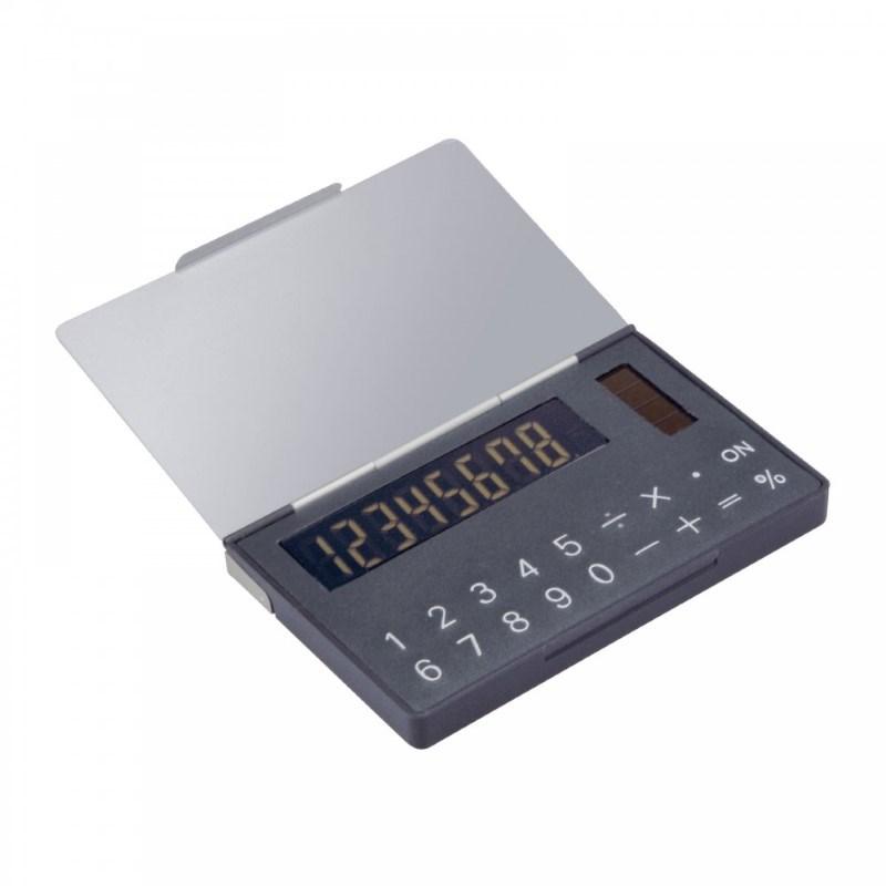 Solarcalculator met etui voor visitekaartjes REFLECTS-PERNIK