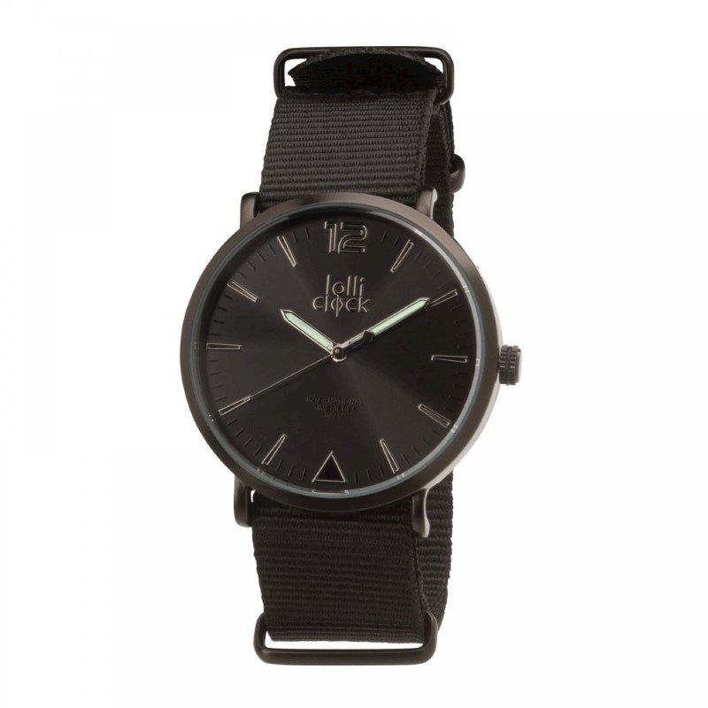 Polshorloge LOLLICLOCK-FASHION BLACK