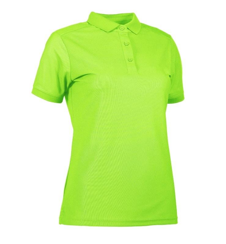 Woman functional polo shirt