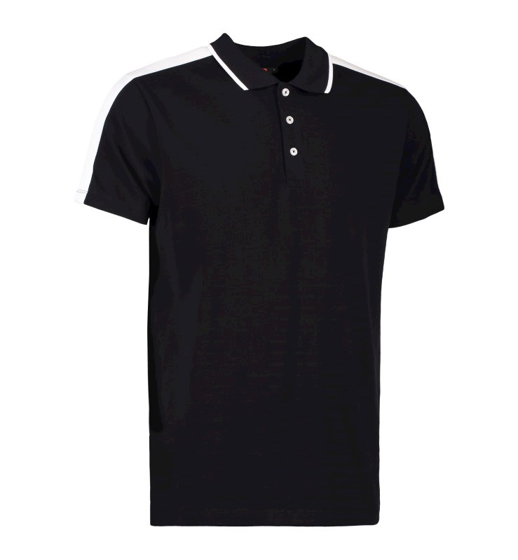Men's polo shirt | contrast band