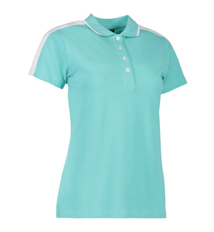 Ladies' polo shirt | contrast band