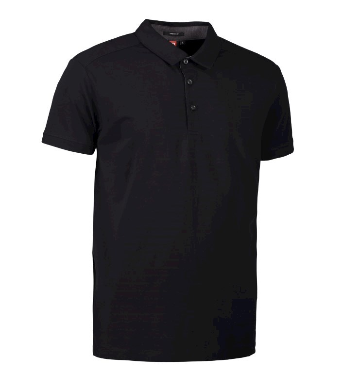 Men's business polo shirt | stretch