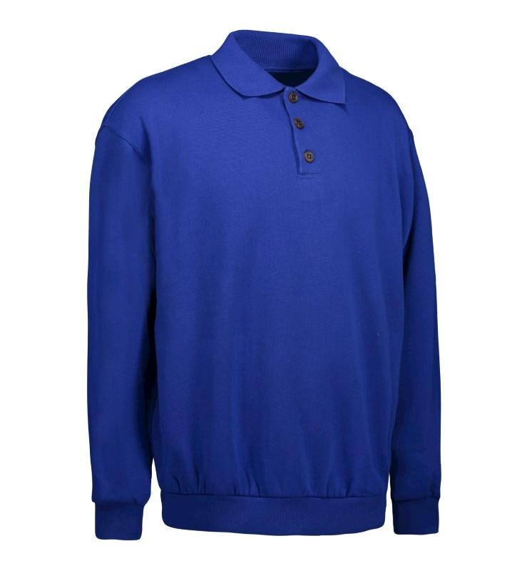 Men's classic polo sweatshirt