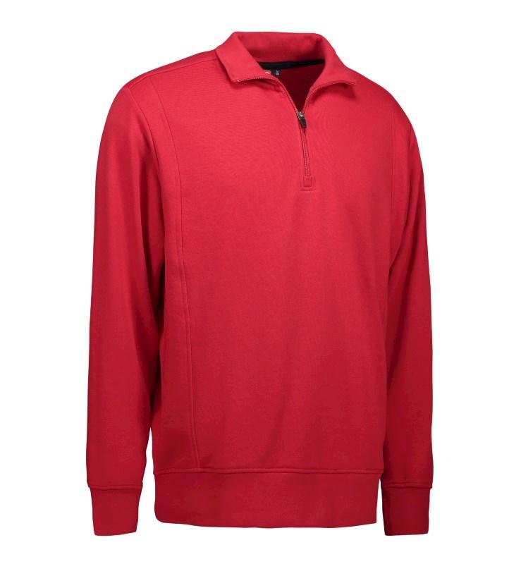 Men's high collar sweatshirt