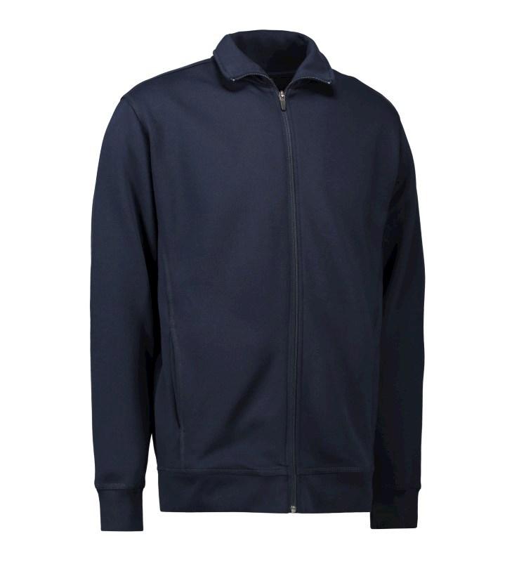 Men's cardigan sweatshirt