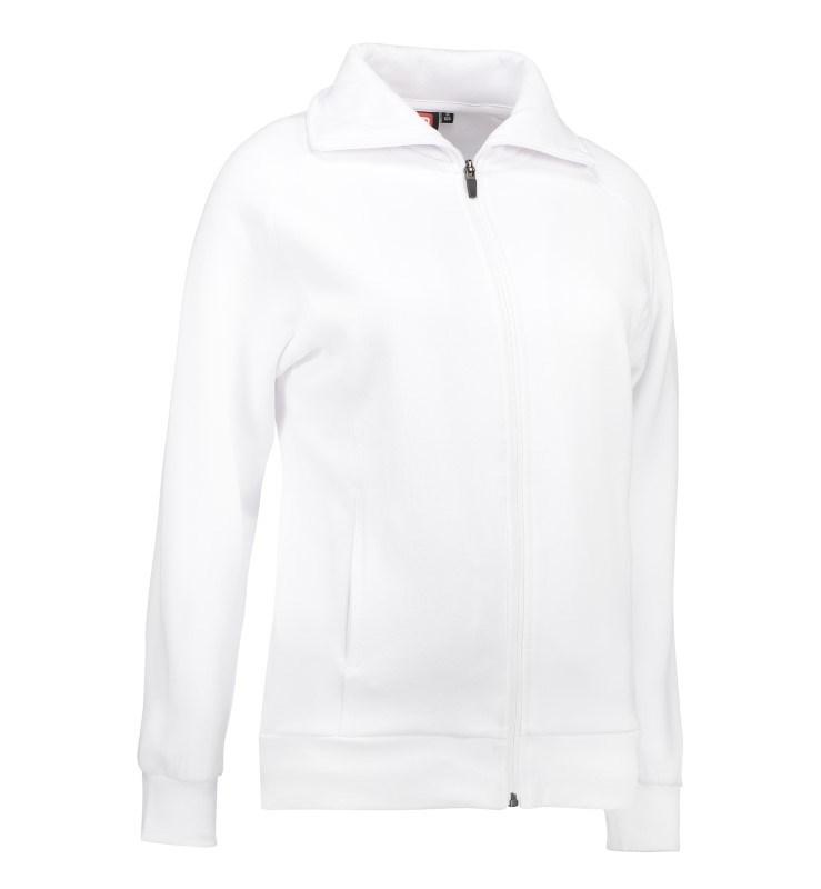 Ladies' cardigan sweatshirt