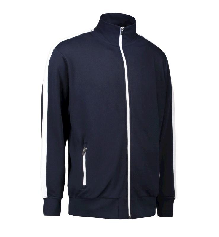 Men's cardigan | contrast stripe