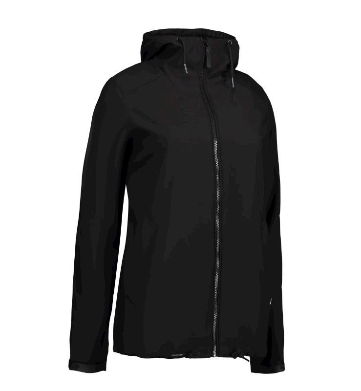 Ladies' casual soft shell jacket | hood