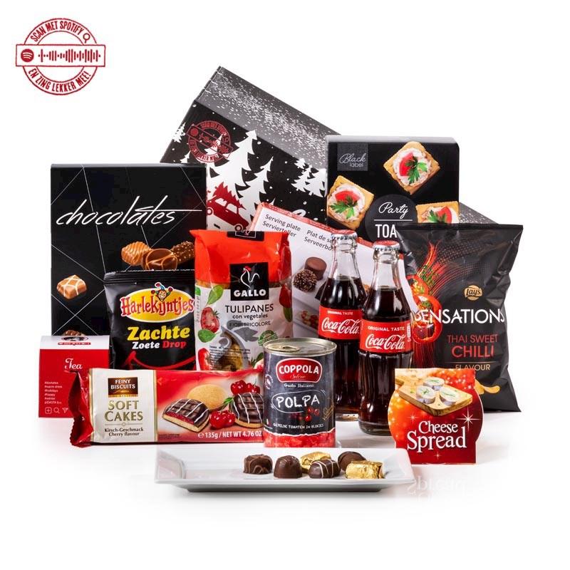 Kerstpakket Rood & Zwart