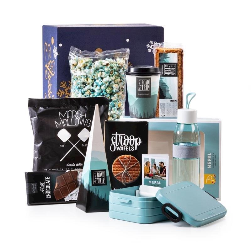 Kerstpakket Lunch in Blauw