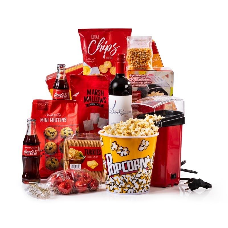 Kerstpakket Poppy Popcorn