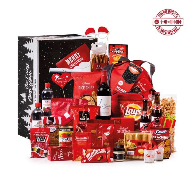 Kerstpakket Rood XXL