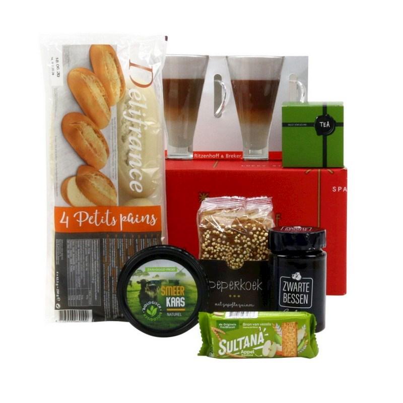Kerstpakket Ontbijt voor Twee