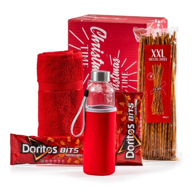 Kerstpakket Sportief Rood